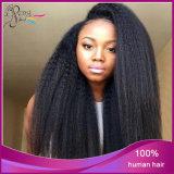 Cheveux humains de pleines perruques brésiliennes droites de lacet de Yaki