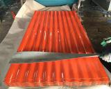 Toiture galvanisée enduite par couleur en métal de PPGI pour des matériaux de construction