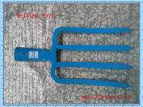 Железнодорожная сталь 4 зуба сваривая головку вилки для садовничать