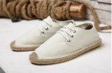 人(MD 22)のための熱い販売の平らな麻の靴