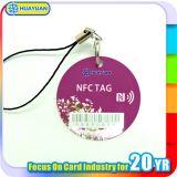 Keyfob mobile de l'application NTAG213 NTAG215 NTAG216 NFC de système au détail