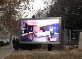 P16 al aire libre RGB LED que hace publicidad de la muestra