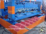 Rolo da telha de alta qualidade PLC Controle vitrificado dá forma à máquina