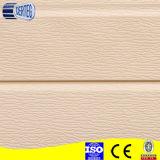 El panel de emparedado a todo color de la PU de la cubierta de acero de madera del patrón