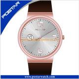Nuevo reloj diseñado de la maleta del deporte del reloj con la dial redonda