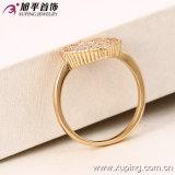 Кольцо горячих ювелирных изделий женщин 18k способа Xuping сбывания Gold-Plated имитационных романтичное кристаллический в медном сплаве -12968