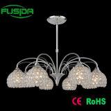 Iluminação de cristal do pendente decorativo interno do candelabro (P-9468/3)