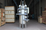 Filtro de presión de los multimedia del tratamiento del agua potable