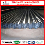 SGLCC Aluzinc Galvalume 물결 모양 금속 루핑 장
