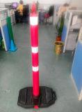 postes de amarração de advertência superiores redondos da estrada reflexiva de 1320mm