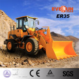 3 tonnellate Loading Capacity Hydraulic Articulated Wheel Loader con CE