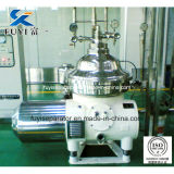 Disco Bowl Centrifugal bifase Solid Liquid Separator per Milk