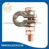 Tipo de cobre E da braçadeira de Rod do parafuso das braçadeiras U das ligações de terra