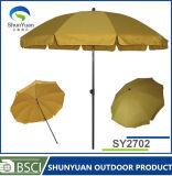 Зонтик пляжа парасоля сада UV предохранения выдвиженческий (SY2702)