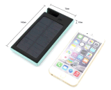 La Banca impermeabile di Dustproof Solar Power Supply Power con Phone Stand