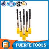 Sólida herramienta de corte de carburo de torno CNC de procesamiento de cobre / acero
