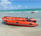 膨脹可能なボート、頑丈な作業ボート、救助艇