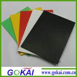 Feuilles rigides blanches et noires de mousse de /PVC de feuille de PVC