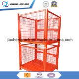 Zusammenklappbares und faltbares Metallstahlmaschendraht-Ladeplatten-Rahmen