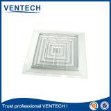 4 Möglichkeits-quadratischer Decken-Diffuser (Zerstäuber), Zubehör-Luft-Luftschlitz-Gesichts-Diffuser (Zerstäuber) (SCD-VA)