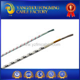 cable eléctrico aislado cinta de la fibra de vidrio del níquel PTFE de 300V 250c UL5180
