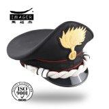 Sombrero mayor militar del Snapback en blanco de la alta calidad principal con la aleta trasera