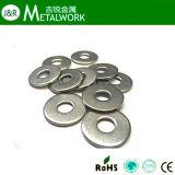 De Vlakke Wasmachine van het roestvrij staal (DIN125, DIN9021)