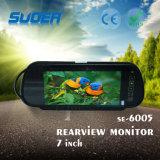 Video di Rearview dei 7 di pollice TFT-LCD di Rearview veicoli dello specchio 12V (SE-6005)