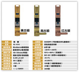5 Different Colorsの優秀なZinc Alloy Fingerprint Password IC Door Lock