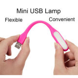 Ultra Bright 1.2W LEDs USB Lâmpada Xiaomi LED Light para Laptop PC portátil flexível Metal Neck LED USB Light Dobrável