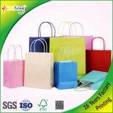 Sacchi di carta del Kraft/sacchetti di mano/sacchetti del regalo/sacchi di carta su ordinazione del Kraft