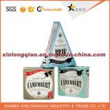 Zuivelfabriek van het Etiket van het Karton van het Document van het Ontwerp van de douane de Privé/het Verpakkende Vakje van de Kaas