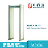 Multi Zones-Exposição Anti Inferência rápido Scanning detector de metais Archway