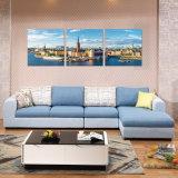 Diseños determinados del sofá genuino moderno del metal