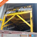 세륨 포크리프트를 위한 휴대용 트럭 선적 경사로 이동할 수 있는 유압 콘테이너 선창 선적 경사로