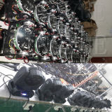 専門の小型DMX LEDのビーム7 12W移動ヘッド