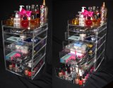 Casella acrilica del cassetto, organizzatore cosmetico acrilico, organizzatore acrilico
