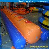 물 공원 게임 사용 PVC 물자 팽창식 바나나 보트