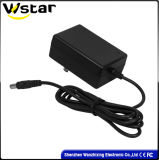 12V 1.5A AC Adapter met Stop UK/Au/Us/EU