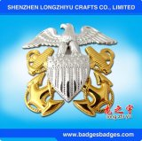 3D Animal Design Gold Plated Pin Badge da Fábrica