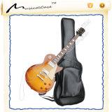 Qualitäts-eindeutiger deluxer lederner Gitarren-Beutel