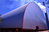 Große Überspannungs-Stahlrahmen-vorfabriziertbauunternehmen