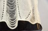 Джинсовая ткань заплаты задней части свитера сетки женщин специальная