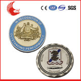 기념품 상인을%s 고대 디자인 금속 동전