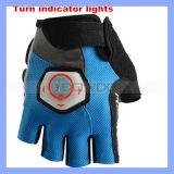 Halbe Drehung-Signal-Fahrrad-Handschuhe der Finger-Beleuchtung-Richtungs-LED