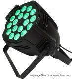 РАВЕНСТВО сигнала PAR64 18X15W RGBWA+UV 6in1 может помыть свет