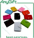Bolso de la tarjeta de la PU, portatarjetas, caja de tarjeta, protector de la tarjeta del bolso