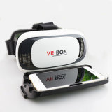 Jeu de film de carton en verre du virtual reality 3D de cadre de Vr pour l'IOS d'iPhone