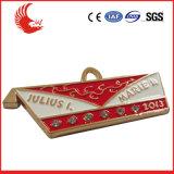 Medalla barata del deporte del metal de la promoción para dirigir la fábrica