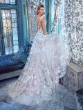 Flora Lace Bridal Gowns Sheer Long Sleeves Wedding Dress Gv20172
